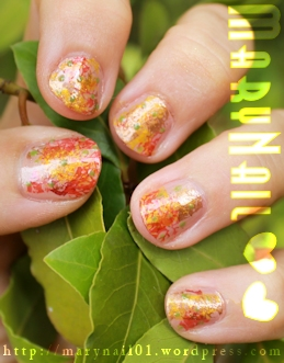 Autumn Nails/ SNB/ MaryNail