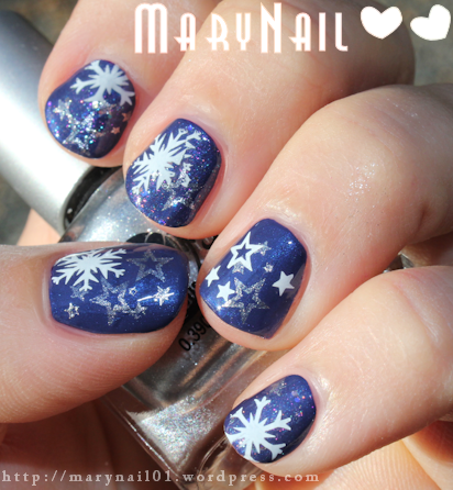 Galaxy Nail Happy New Year 2