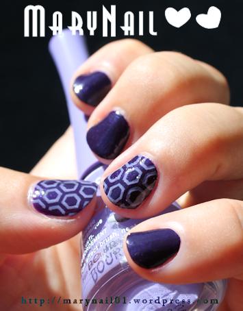 Lilas Purple By Marynail