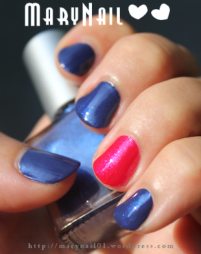 Petit Swatch Blue Jeans vs Rouge Cerise